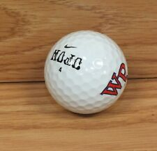 Nike Mojo Number 4 Wp White Collectible Single Golf Ball Only *Read*