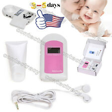 BABYSOUND LED Pocket Fetal doppler Baby heart monitor+ONE gel,FDA,us seller