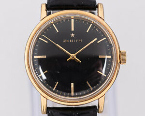 Vintage Zenith 2532 Manual Wind Movement in Base Metal Case from Estate