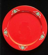 "WAECHTERSBACH GERMANY CHARGER PLATE SERVICE 12-1/4"" CHRISTMAS TREE PATTERN"