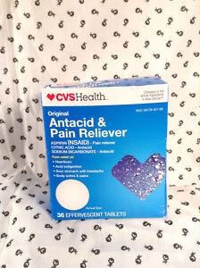 OTC CVS Health Antacid & Pain Reliever Effervescent Tablets Original