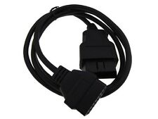 16-Pin OBD 2 OBDII Male to Female Extension Cable - 150cm