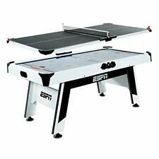 New listing Sports Air Hockey Game Table: Indoor Arcade Gaming 6 Foot (Table Tennis Top)