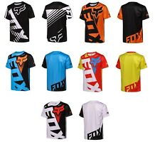 Fox Racing Jersey T-Shirt Men's Motocross/Mx/Atv/Bmx/Mtb Cycling Bike Tops Us