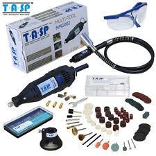 TASP Dremel Electric Rotary Tool 130W 5 Variable Speed Grinder Mini Drill 140pcs