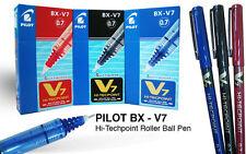 24 rotuladores Pilot V7 Hi-TecPoint Pen BX-V7 negro