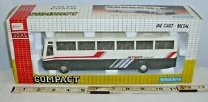 JOAL COMPACT VOLVO COACH JETWAYS TRAVELERS BUS DIECAST MODEL TOY BOXED 1/50TH