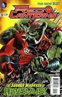 Red Lanterns #12 Unread New Near Mint New 52 DC 2011 **21
