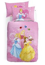 Parure Copripiumino Principesse Cenerentola Aurora Belle Digitale Disney Caleffi