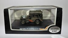 WILLYS ARMY MILITARY JEEP MODEL Maxi Car GREEN 1944 Australia D-Day Boxed USA