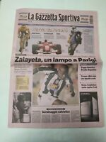 GAZZETTA DELLO SPORT 25 LUGLIO 2004 LANCE ARMSTRONG VINCE 6° TOUR DE FRANCE