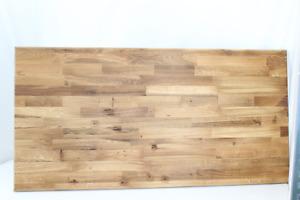 Tischplatte Arbeitsplatte Holzplatte Eiche geölt 1600x800x26 MANGEL SIEHE TEXT