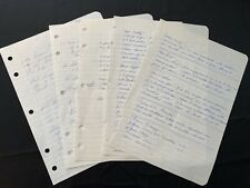 Handwritten Recipes For Drinks & Alcoholic Beverage Recipes