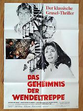 SPIRAL STAIRCASE rare German 1 sheet 1975 Jaqueline Bisset - Christopher Plummer