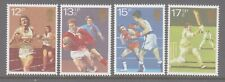 UK 1980 Sports Centenaries  mint unhinged set 4 stamps