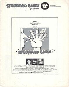 Steelyard Blues (1973) Pressbook - free shipping