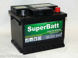 SEAT, SKODA, VOLKSWAGEN (VW) - Heavy Duty Car Battery TYPE 063 - SuperBatt 063