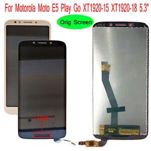 "5.3"" For Motorola Moto E5 Play Go XT1920-15 XT1920-18 LCD Display Touch Screen"