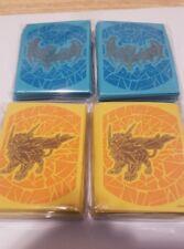 NEW Pokemon TCG Dusk Mane & Dawn Wings Necrozma (x2 each) card sleeves from ETB