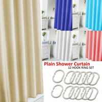 Extra Long Shower Curtain Waterproof Polyester Fabric Bathroom Shower Curtains.
