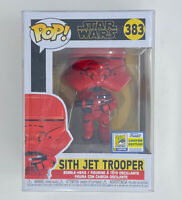 Funko Pop Sith Jet Trooper Star Wars SDCC 2020 Con Sticker IN HAND