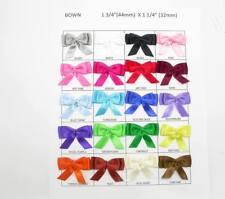 Plano doble Arcos de la cinta de raso X 10 Varios Colores