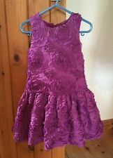 Bright Purple M&S Party Dress/Baby Girl/Occasion Wear/Age 18-24 Months/Dressy
