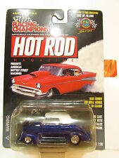 RACING CHAMPIONS HOT ROD ISSUE #100 - '37 FORD CONVERTABLE 1:58 SCALE