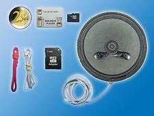 Soundmodul Mini Wave Player MWP1 inkl. 78mm Ø Lautsprecher | 4GB Micro SD Karte