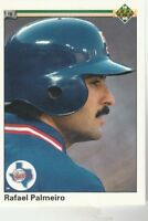 FREE SHIPPING-MINT-1990 Upper Deck #335 Rafael Palmeiro Rangers -2
