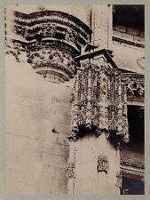 Architecture chrétienne Moyen Âge Art gothique France Vintage albumine ca 1880