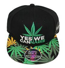 Rasta Snapback Baseball Cap Cannabis Leaf Weed Marijuana Hat One Size 20 Designs