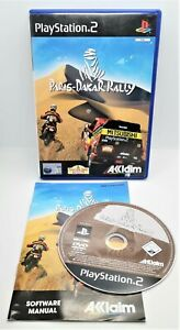 Paris-Dakar Rally Video Game for Sony PlayStation PS2 PAL TESTED