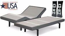 NEW SPLIT KING  S-CAPE 2.0 PLUS PERFORMANCE ADJUSTABLE BED W/ BLUETOOTH