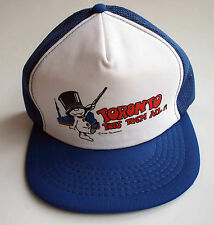 Toronto Tops Them All Vintage Snapback Trucker Hat Blue White