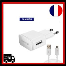 Chargeur Cable SAMSUNG ORIGINAL EP-TA90EWE Galaxy S6 S7 Note 4 5 Edge + Plus C5