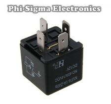 12V Standard Automotive Relay - 4 Pin - 40A - Normally Open Contacts (SPST)