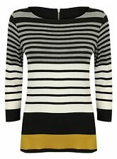 Casual Striped Plus Size Tops & Shirts for Women