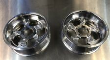 Goped Pocket Bike 66/72mm Billet Polished Slayer Rims