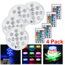 Underwater Light Rgb Led Swimming Pool Lamp Spa Pond Fountain Remote Control Kit