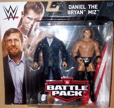 DANIEL BRYAN the MIZ WWE Mattel Battle Pack Series 49 Action Figures NEW IN HAND