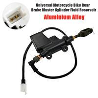 Off Road ATV Bike Rear Brake Pump Hydraulic Master Cylinder W/Fluid Reservoir