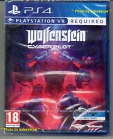 Wolfenstein Cyberpilot VR  {PS VR REQUIRED} 'New & Sealed'  *PS4(Four)*