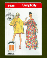 Vintage Caftan Sewing Pattern~Long or Short~Authentic! (S-Xl) Simplicity 5628
