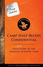 From Percy Jackson Camp Half-Blood Confidential Trials of Apollo Hardcover Book