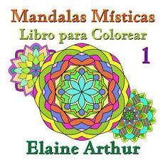 Mandalas Misticas: Mandalas Misticas Libro para Colorear No. 1 by Elaine...
