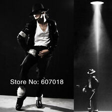 Rare MJ Michael Jackson Billie Jean Black Sequin Jacket Outfit Christmas Gift