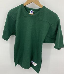 Vintage Russell Athletic Sweatshirt Blank Youth Medium Made in USA Short Sleeve