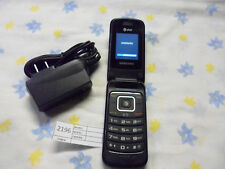 Samsung SGH-A157 - Black AT&T Unlocked GSM Cellular Flip 3G Phone Worldide