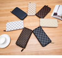 Clutch Women Ladies Leather Wallet Long Card Holder Phone Bag Case Purse Handbag